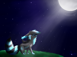 Together like moonlight AT by ShinyTheKitsune