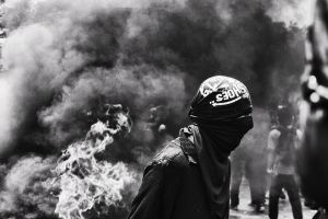 protesta chile by Pablorojasm