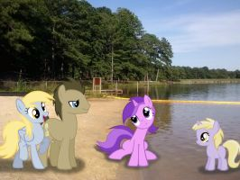 Sun, Sand, and The Hooves Family! by TokkaZutara1164
