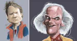 back to the future by Parpa