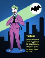 Batman 1966 - Joker by SeriojaInc