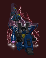 Thundercracker redux for t-shirt contest by cgrapa