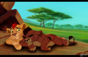 Kovu`s Bad Dream by mysteriousharu