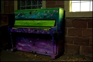 Unknown Piano Art by somna-ARTifacts