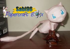 Mew Papercraft by Sabi996