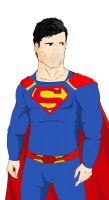 CW's Superman - Tyler Hoechlin by Razanul