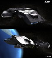 X-304 in Stargate by view