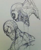 Venom and Spidey by ChrisOzFulton
