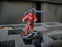 Infinity the Game: Yu Jing, Yan Huo Invincible HMC by SephKnight