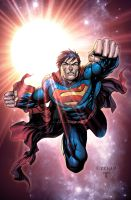 Superman commission by TylerKirkham