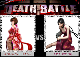 DB  Anna VS Ada by KazuyaAlexander