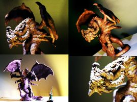 Dragon Sculpt Compiled by anarchisticmoosebear