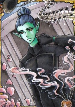 ACEO #16 CBT Sam EQUILIBRIUM by MTToto