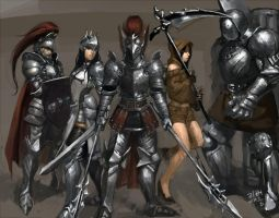 vindictus warriors by wbnightmare