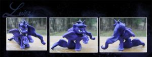My Little Pony Princess Luna Blind Bag Custom 4 by kaizerin