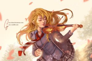 Your Lie in April by Azu-Chan