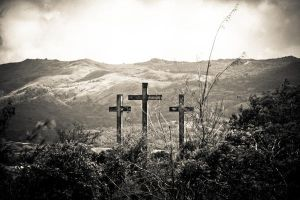 Old Wooden Cross by DarkOceanDream