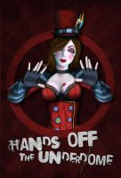 Mad Moxxi - Underdome Poster by MarkuzR