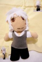No6 Shion Plushie by superjacqui