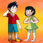 Cole and Ashley Ketchum by Monstermanic59