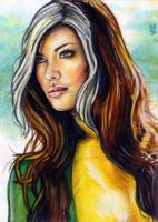 Rogue Sketch Card 14 by veripwolf