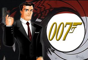 James Bond 007-Brosnan by TonyForever