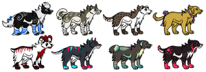Doggy Adopts Auction 1 by Muffin-Adopts