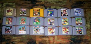 My N64 Collection by 64marjo64