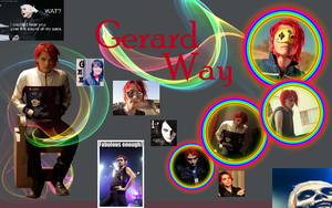 Gerard Way Collage by FromLoveToDeath