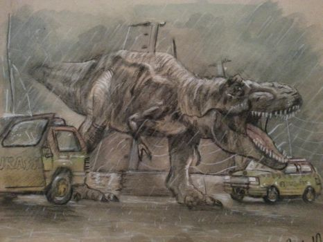 We have a T-Rex! by FortuneandGlory