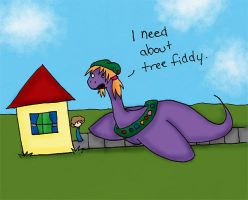 I Need about Tree Fiddy by BloodThirstyZompire