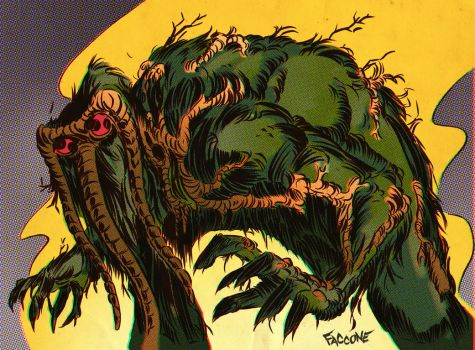 MAN THING by ChrisFaccone