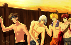 Naruto Com: After Practice by Solstice-11