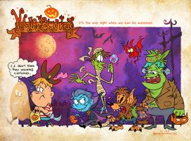 Halloween Kids by Garvals