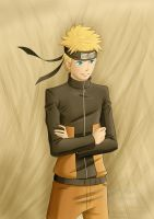 Commission 63: Naruto Uzumaki by Thanysa