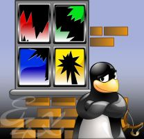Linux-fan by t-bone-0