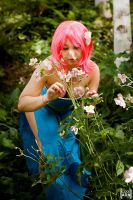 Lenna in the flowers by Minakosplay