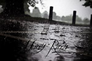 Heavy Rain - Poster by JezzyHatesJazz
