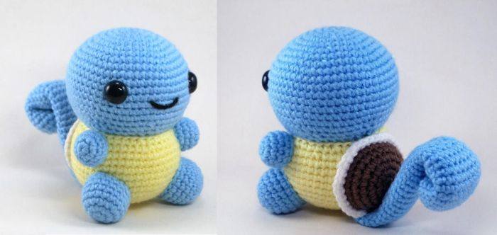 Chubby Squirtle by craftyhanako