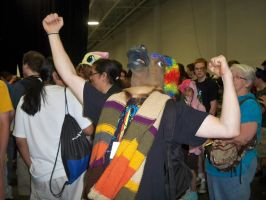 While At BronyCon by Linny235