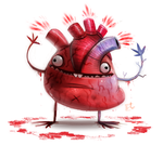 Daily Paint #695. HUG ME by Cryptid-Creations