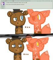Ask five nights at cuties [2] by Cookie-fish