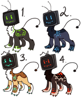 Video Beasts Auction by Ide-Adopts