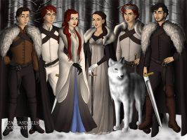 The Stark Kids! by BlackRoseOfSummer