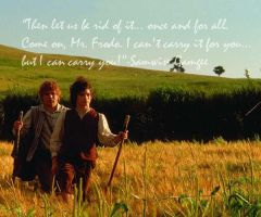 Frodo and Sam by Samantha281190