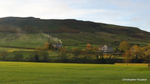 Across The Green at Burnsall by squareprismish