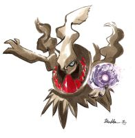 Darkrai Quick Draw by Spilled-Sunlight