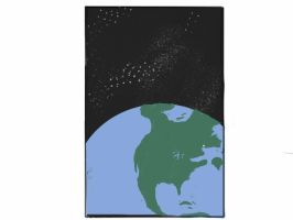 North America From Space (Did this by memory only) by strotherdw
