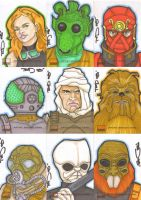 Star Wars Galaxy 4 batch 6 by NORVANDELL