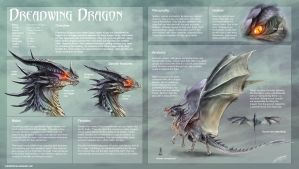 Dreadwing Dragon study by Dragolisco
